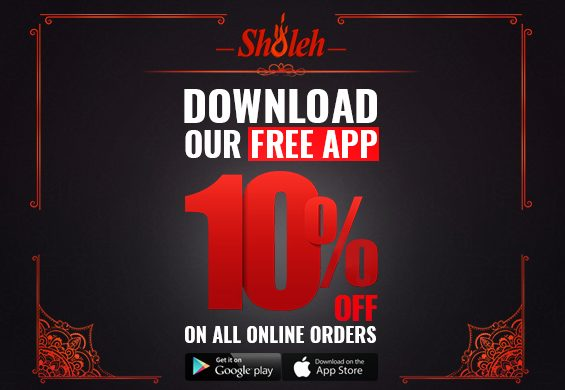 Sholeh Glasgow Mobile App 10% Discount